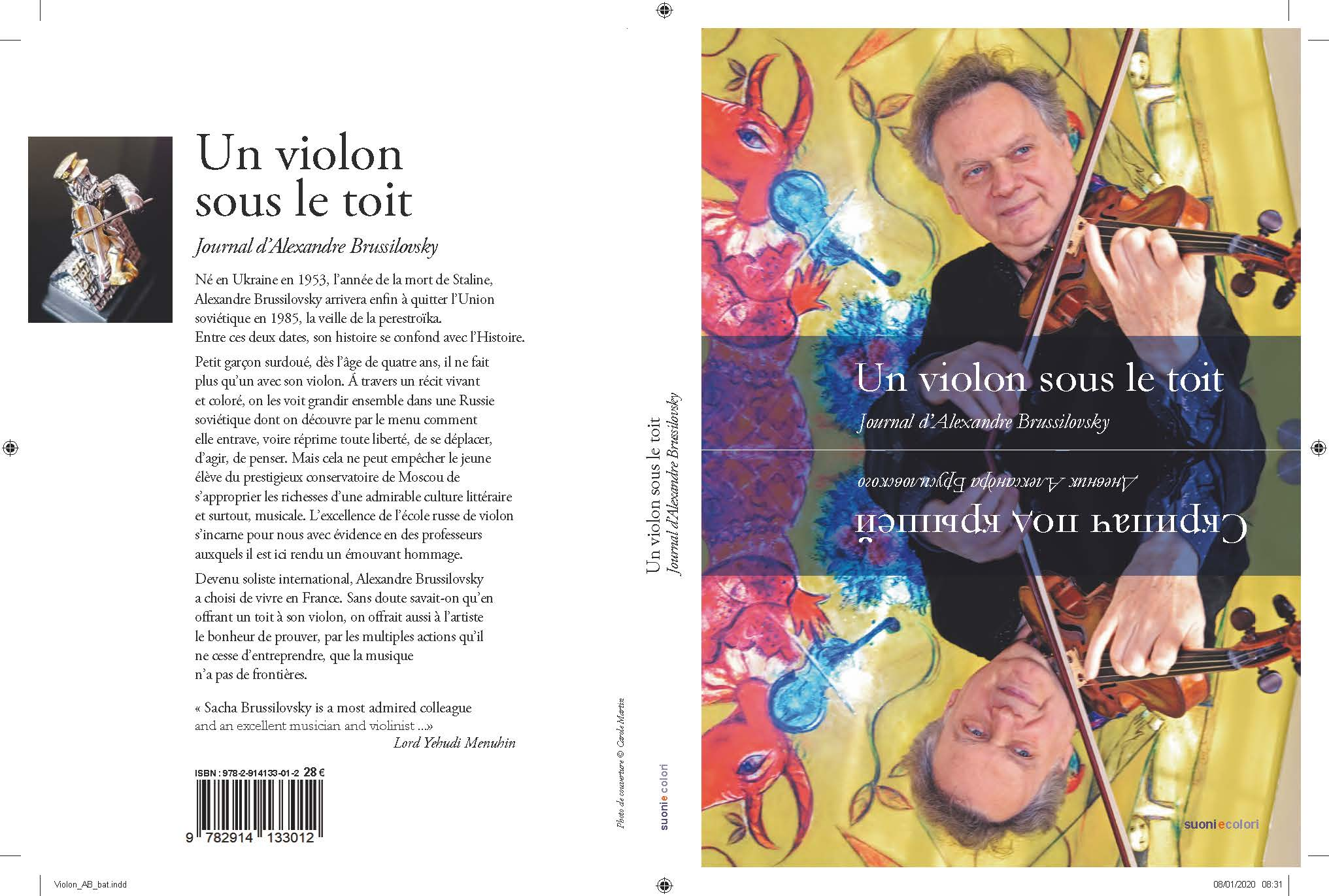 Book of Un violon sous le Toit French version